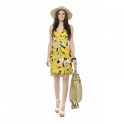 Printed Chiffon Dress 12334